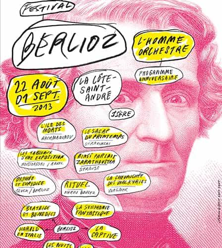 Affiche Berlioz 2013