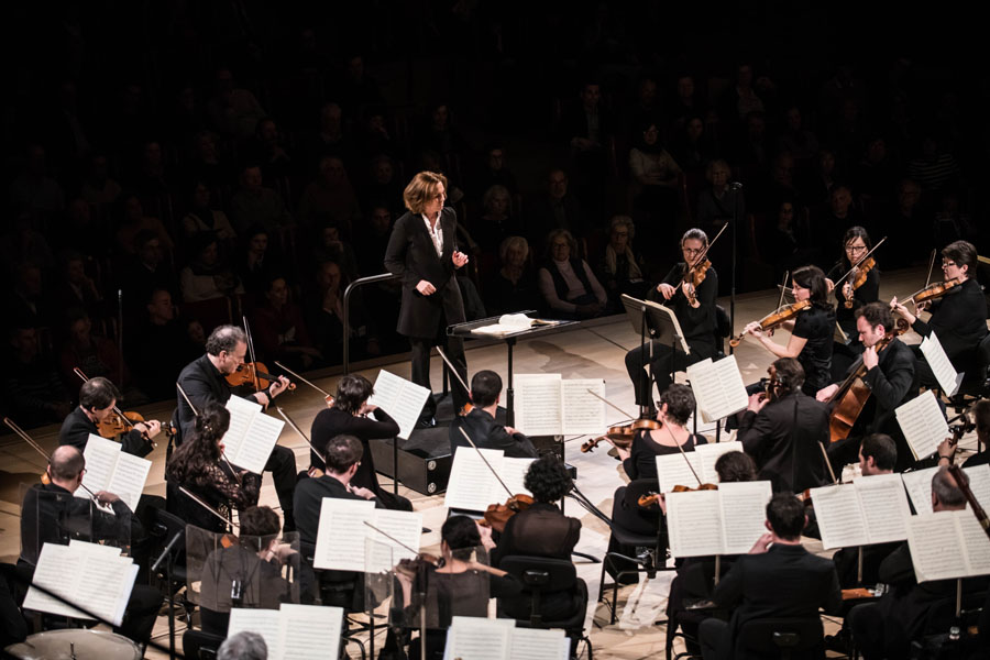 Insula orchestra, Laurence Equilbey ©Julien Benhamou